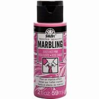 FolkArt Marbling paint Hot Pink 16923