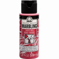 FolkArt Marbling paint Red 16922