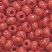 KP213102165 Bohemian glas Rocailles Karmijn rood 5mm 5mm/doosje17gr.