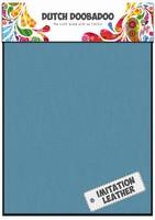 DDBD Dutch Fabric Art 456.070.312 Imm. leer Blue (2x) 15x20cm