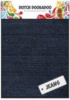 DDBD Dutch Fabric Art 400.903.007 Jeans Dark (2x) 15x20cm