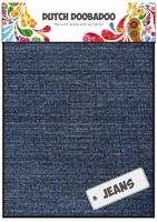 DDBD Dutch Fabric Art 400.903.008 Jeans Medium (2x) 15x20cm