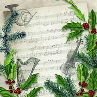Servetten Ambiente 1331_0860 Kerstliedje
