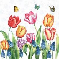 Servetten Ambiente 1331_1525 Tulpen