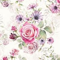 Servetten Ambiente 1331_1340 Rozen roze en lila