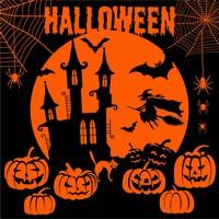 Servetten Halloween nacht CCH25324