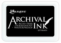 Ranger Archival Ink pad AIP31468 Jet Black
