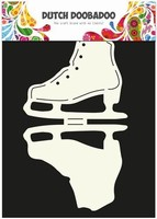 DDBD Dutch Card Art stencil 470.713.507 Schaats Ice Skate