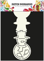 DDBD Dutch Card Art stencil 470.713.508 Sneeuwpop Snowman
