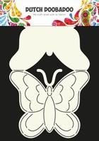 DDBD Dutch Card Art stencil 470.713.607 Butterfly