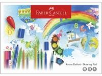 Faber-Castell Teken-Schetsblok 25x35cm/120grams/15vel 25x35cm/120grs