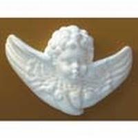 Styropor engelkopje met vleugels DH83103B