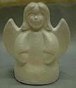 Styropor engeltje staand OP=OP 9 cm