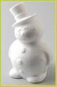 Styropor sneeuwpop art. VA21340 17cm