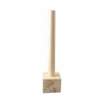 Standaard sokkel hout 30cm blok 7x7cm art. 0126