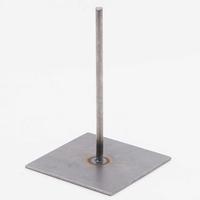 Standaard: Metalen pin 15cm (voet circa 10x10cm)