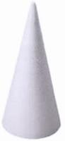 Styropor Kegel 40cm (onderkant doorsnede 18cm) 40cm hoog