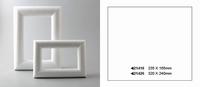 Styropor lijst rechthoek 23,5x16,5cm
