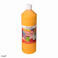 Dactacolor plakkaatverf 02073-03-DonkerGeel 1 liter