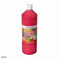 Dactacolor plakkaatverf 02075-05-LichtRood 1 liter