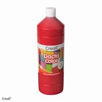 Dactacolor plakkaatverf 02076-06-DonkerRood 1 liter