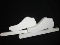 Styropor snijvorm Schaatsen/Noren circa 35cm (set van 2)