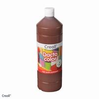 Dactacolor plakkaatverf 02089-19-DonkerBruin 1 liter