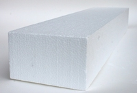 Styropor/Piepschuim balk/sokkel 13x6x50cm