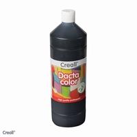 Dactacolor plakkaatverf 02090-20-Zwart 1 liter