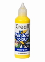 Creall glass 20502 window color Citroen geel 80 ml