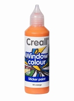 Creall glass 20508 window color Oranje 80 ml