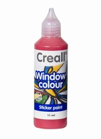 Creall glass 20515 window color Rood 80 ml