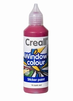 Creall glass 20518 window color Donkerrood 80 ml
