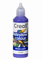Creall glass 20528 window color Violet 80 ml