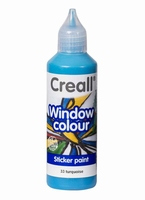 Creall glass 20533 window color Turqouise 80 ml