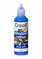 Creall glass 20535 window color Blauw 80 ml