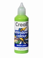 Creall glass 20542 window color Licht groen 80 ml