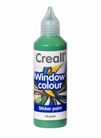 Creall glass 20545 window color Groen 80 ml