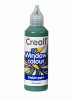 Creall glass 20548 window color Dennegroen 80 ml
