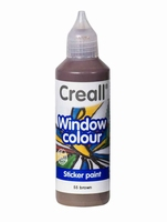 Creall glass 20555 window color Bruin 80 ml
