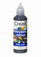 Creall glass 20561 window color Zwart 80 ml