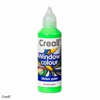Creall glass 20582 window color Neon groen