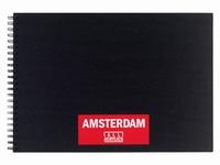 Amsterdam 93023020 Black book A3, 250grams