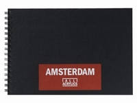 Amsterdam 93023021 Black book A4, 250grams