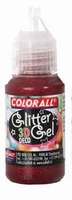 Collall/Colorall 3D Deco Glittergel DG04 Rood 50ml