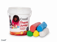 Creall Therm Junior ass. kleuren 03015 (polymer klei) 500gr.