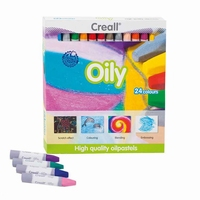 Creall 08541 Oily Oliepastels 24 stuks assorti
