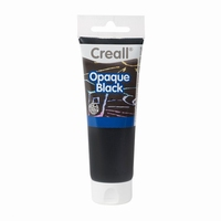 Creall 32002 Opaque Black, dekzwart 120ml
