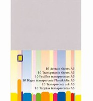 JeJe 3.1010 Transparante sheets A5 formaat A5 - 10sheets