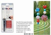 HobbyTime Styrofix 63803809 Electrische styroporsnijder,mes